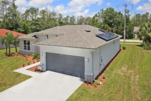 Brite Homes' optional solar panels provide the lowest possible monthly energy cost.