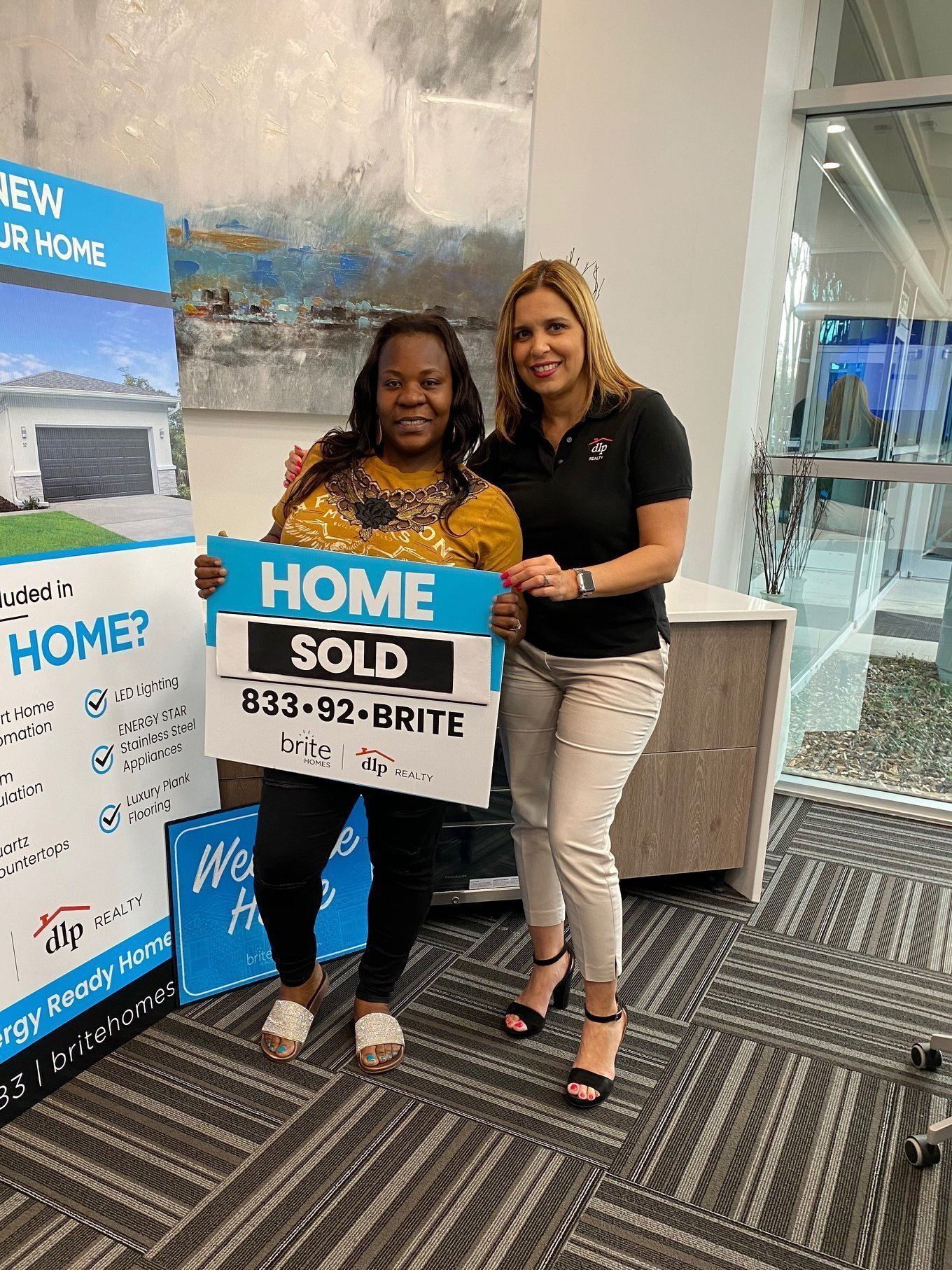 Happy Client at Closing -2