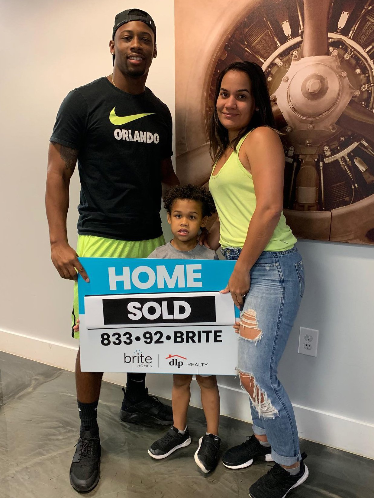 Happy Client at Closing -7